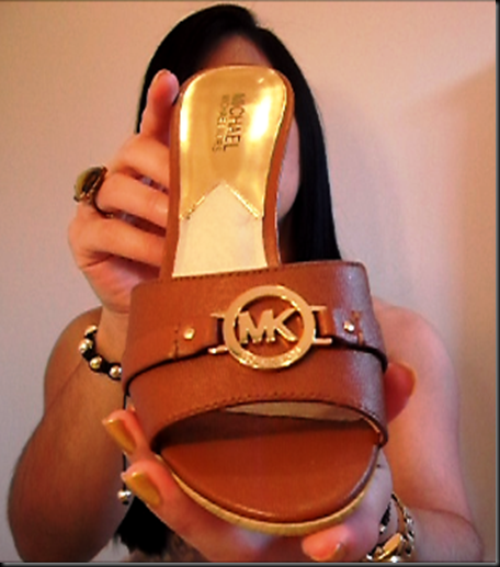 MK shoes from video