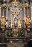 The Infant of Prague - worshipers come from around the world to pray at this small statue