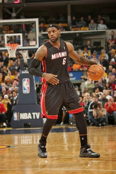 lebron james nba 140326 mia at ind 12 LeBron James Uses Safari Soldier 7s in a Loss vs. Pacers