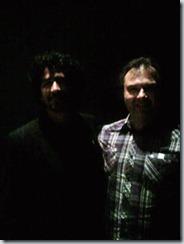 Я с режиссером Алехандро Бругесом