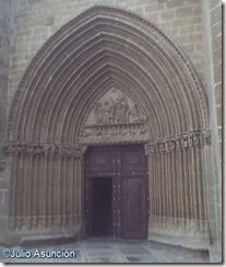 Iglesia de Santa María de Ujué - Portada sur