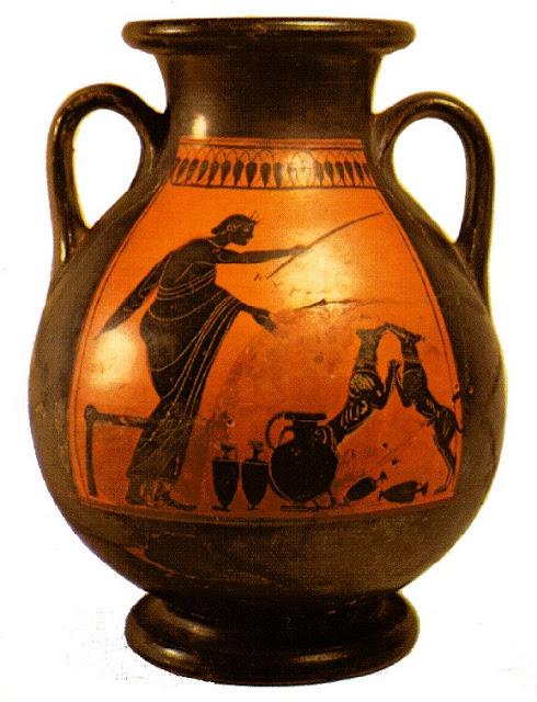 Ceramica Griega Pintura De Vasos Griegos