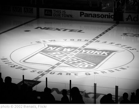 ''Madison Square Garden Rangers'' photo (c) 2002, thenails - license: http://creativecommons.org/licenses/by/2.0/