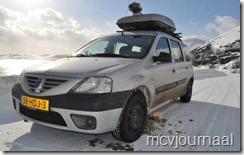 Arctic Roadtrip Erik met Dacia Logan MCV 06