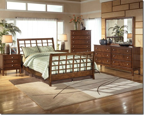 Ashley Bedroom Furniture Set (2)