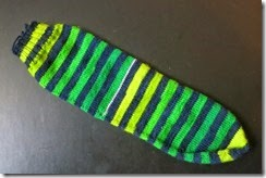Fab Funky Fibers - St. Patricks Sock