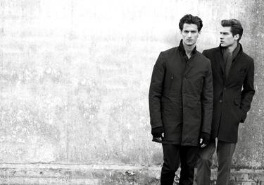 Vladimir Ivanov + Garrett Neff  by Tobias Lundkvist for Brothers F/W 2011 campaign.  Styled by Claes Juhlin