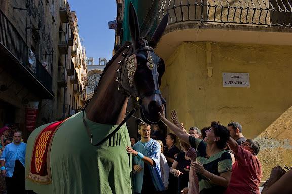Dia 23, tornada d'ofici. Festes de Santa Tecla. Tarragona, Tarragonès, Tarragona