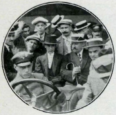 1914-07-05 Gallito llega a Barcelona