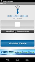 Screenshot of Michigan Business Network