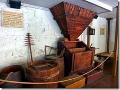 Old equipment at Sturgis Pretzel