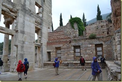 Ephesus Library Interior Wall-1