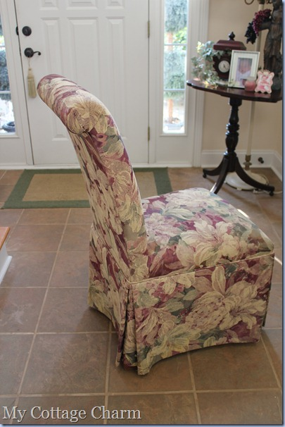 parsons chair upholstery