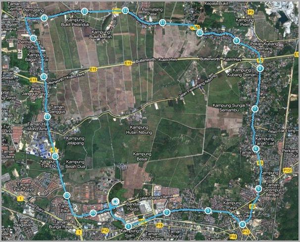 Larian Hijau Route