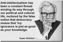 antiintellectualism