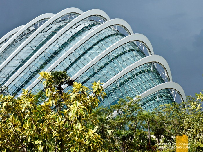 Singapore's Flower Dome at Gardens by the Bay