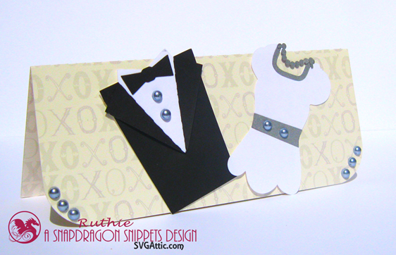 $20 gift envelope - Wedding gift card - SnapDragon Snippets - Ruthie Lopez.2
