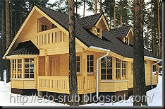 Финские деревянные дома