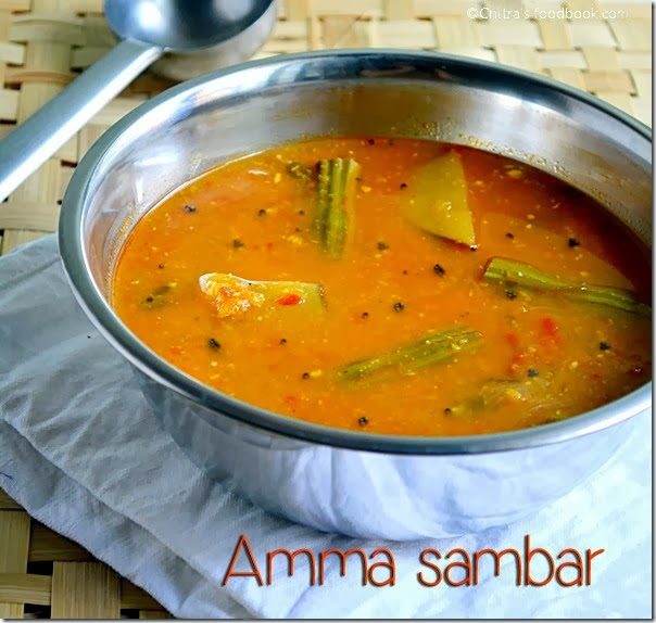 Sambar for lunch