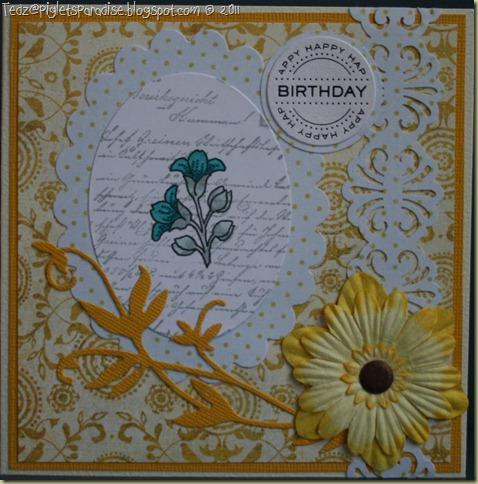 Birthday - Yellow