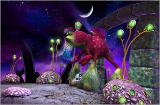 Daglas Alien Safari 1 Spore
