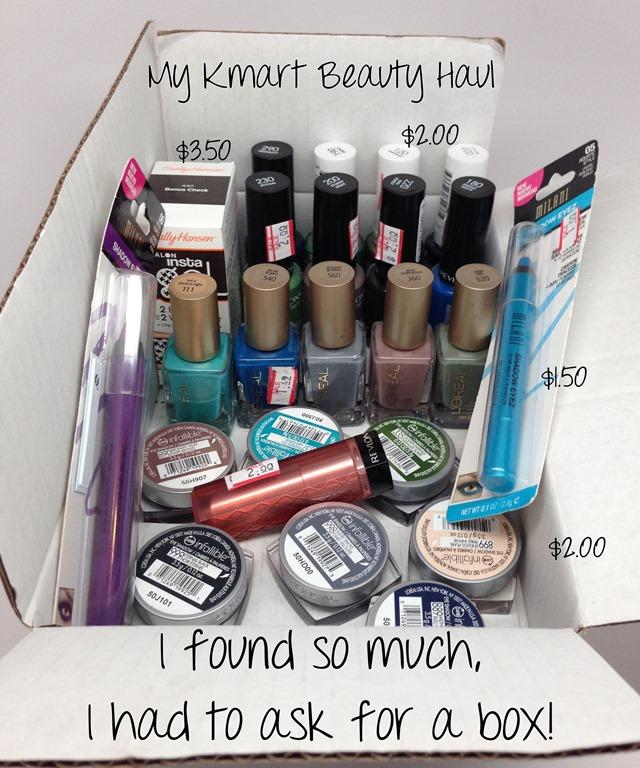 My Kmart Beauty Clearance Haul