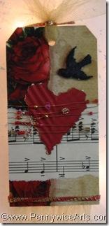 Julies Valentine Tag