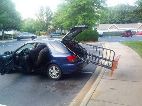Um veículo diferente poderia ter funcionado melhor 11