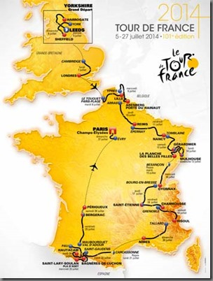 Visit the website of the Tour De France 2014
