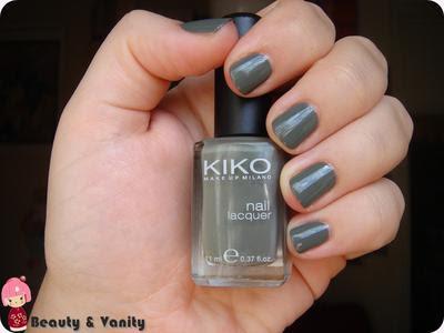 Smalto Kiko 348 (verde mimetico)