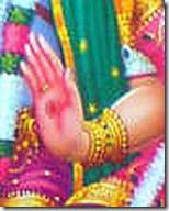 [Sita Devi's hand]