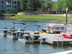 Florida Marriott Cypress Harbour boating area