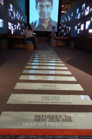 Obiective turistice Wellington: in vizita la Te Papa, etajul noilor colonisti