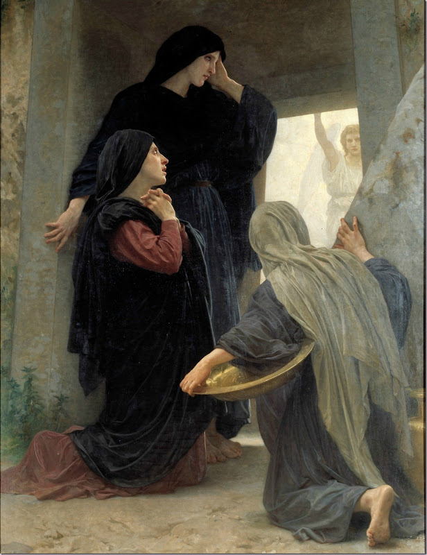 Resurrection, The Three Marys at the Tomb, William Bouguereau, 1876