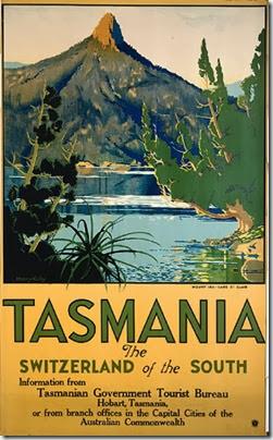 Tasmania TOURISM 1940S