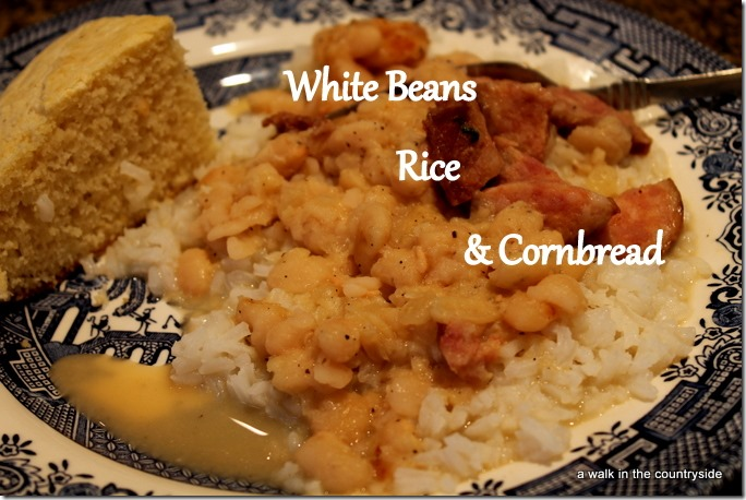 old fashioned white beans recipe