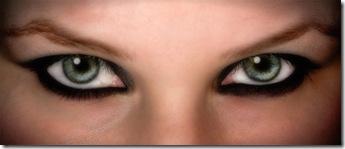 maquillaje ojos felinos