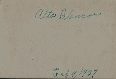 Alta 1927 DL Antiques back