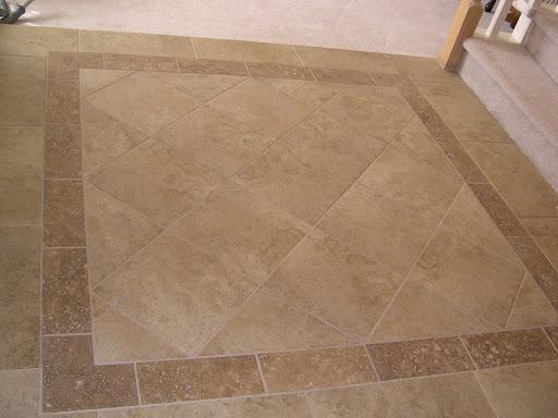 Foyer Tile Job : Foyer tile floor designs