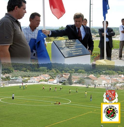Inauguração relvado Campo Jogos Linhais - Ota - 03.9.111 (LS)