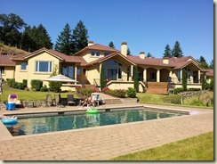 Ben's pool & house