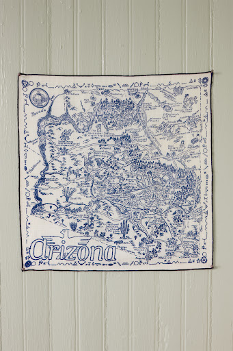 There is no shortage of beautiful detail on this handkerchief. (Martha Stewart Living, July 2010)