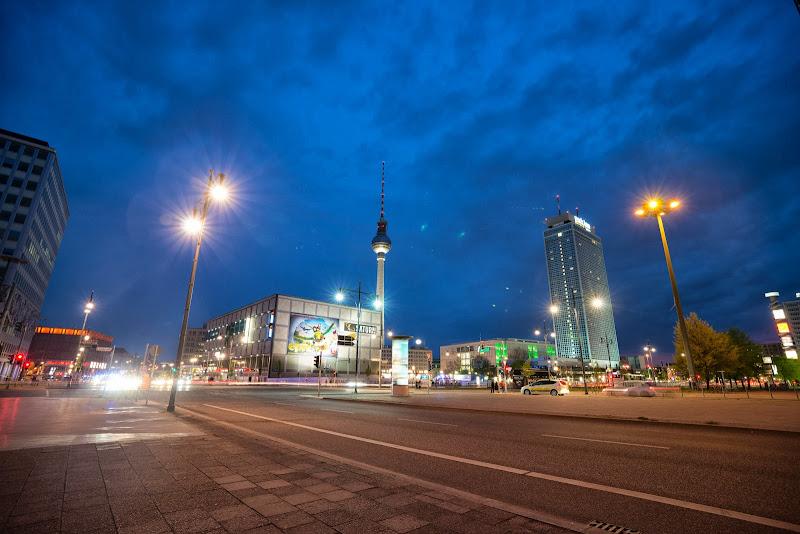 Площадь Александерплатц. Фото от Саши