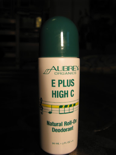This roll-on Aubrey Organics worked well, but know that the retro/health food store packaging indicates a decidedly hippie scent of sandalwood and patchouli.  ($7.50)