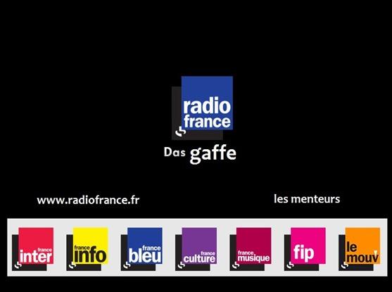 Radio France les menteurs
