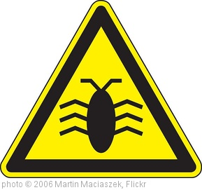 'Software Bugs' photo (c) 2006, Martin Maciaszek - license: http://creativecommons.org/licenses/by/2.0/
