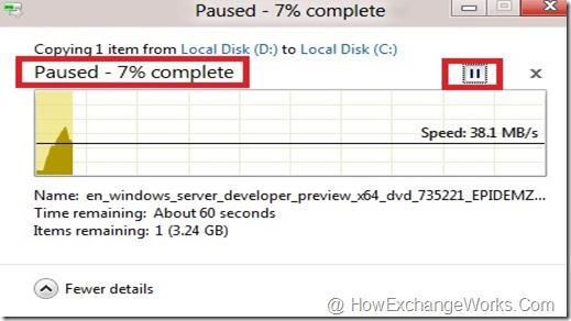 Pause And Resume Copy Process In Windows 8… -