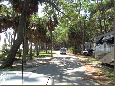 Hunting Island SP, South Carolina.   narrow roads, not big rig friendly but there are a few sites for larger rigs