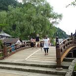 traditional bridge at Edo Wonderland in Nikko, Totigi (Tochigi) , Japan