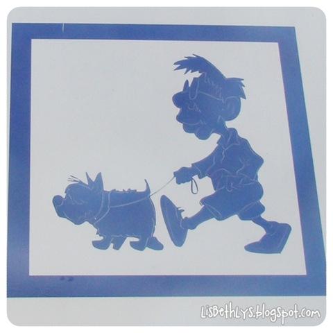 Her må selv tegneseriefigurer lufte deres hunde!